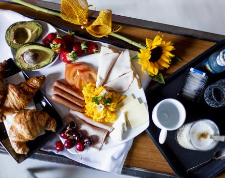 Our 4-star hotel offers a rich and delicious buffet breakfast