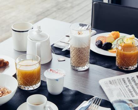 Rich and tasty breakfast buffet if you book the BW Hotel Aries 3 -star
