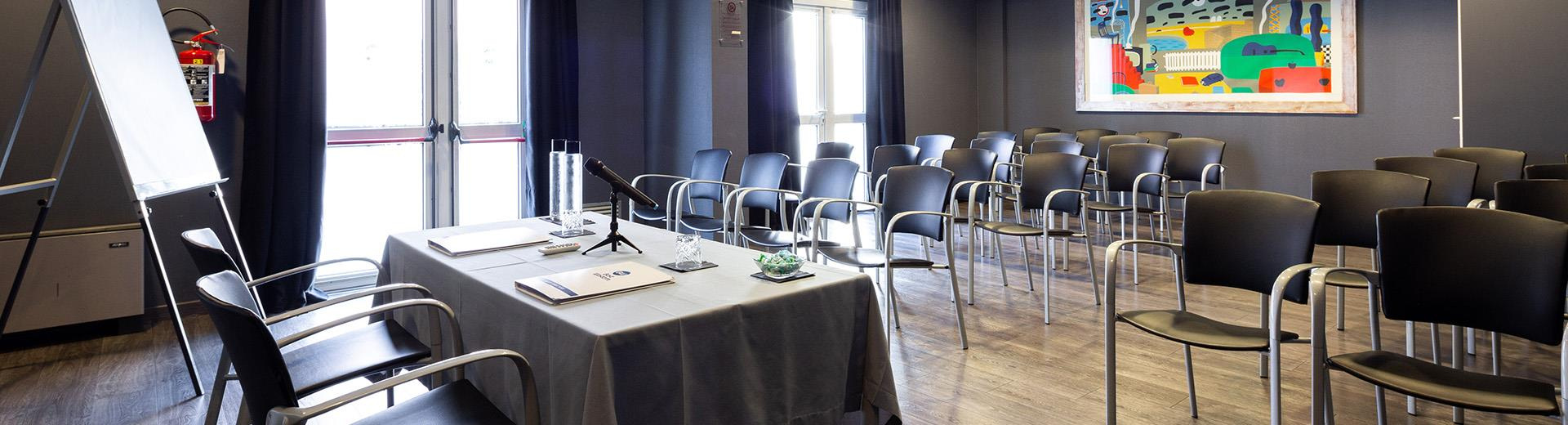 Modern meeting rooms in Vicenza at the BW Hotel Aries
